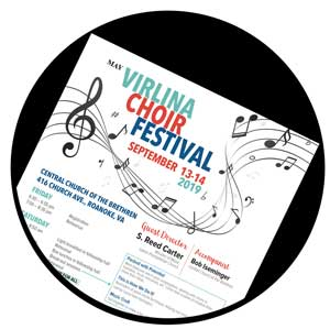 Choir Festival Button